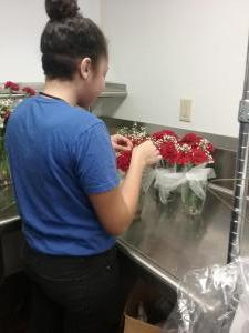 Florist in the making